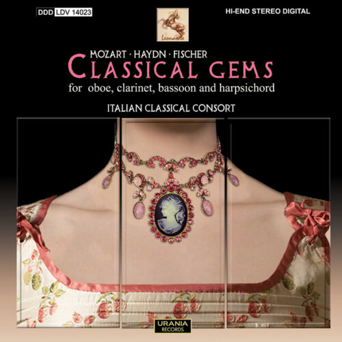 classical gems for oboe, clarinet, bassoon and harpsichord