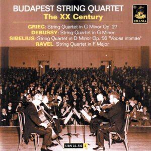 BUDAPEST QUARTET 332 COVER
