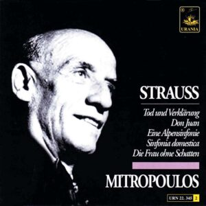 STRAUSS 345 COVER